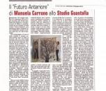 FUTURO ANTERIORE - Studio Guastalla - Corriere 2011